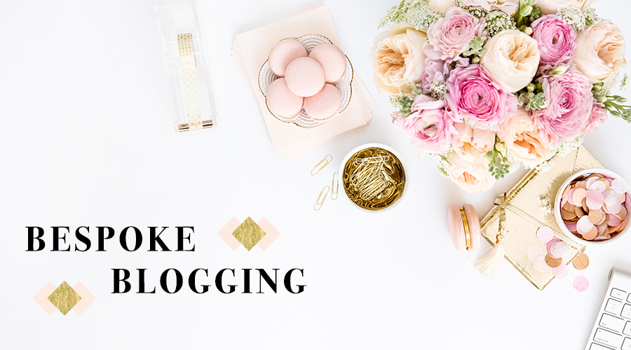 bespoke blogging header