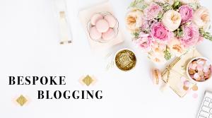 bespoke blogging header