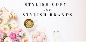 glitz & grammar stylish copy for stylish brands