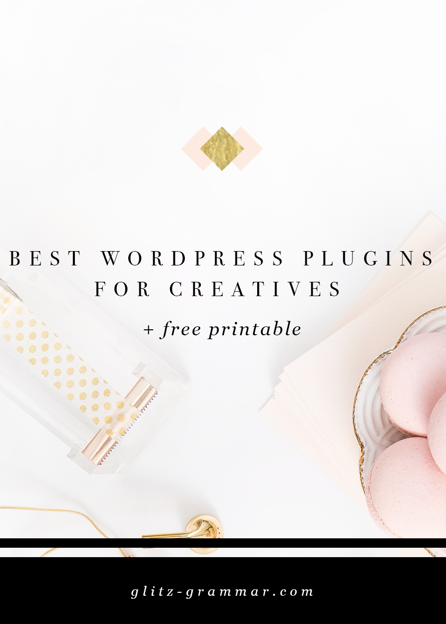 best wordpress plugins bloggers & creatives