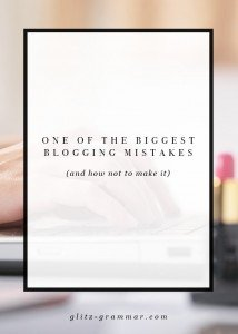 blogging mistakes people make