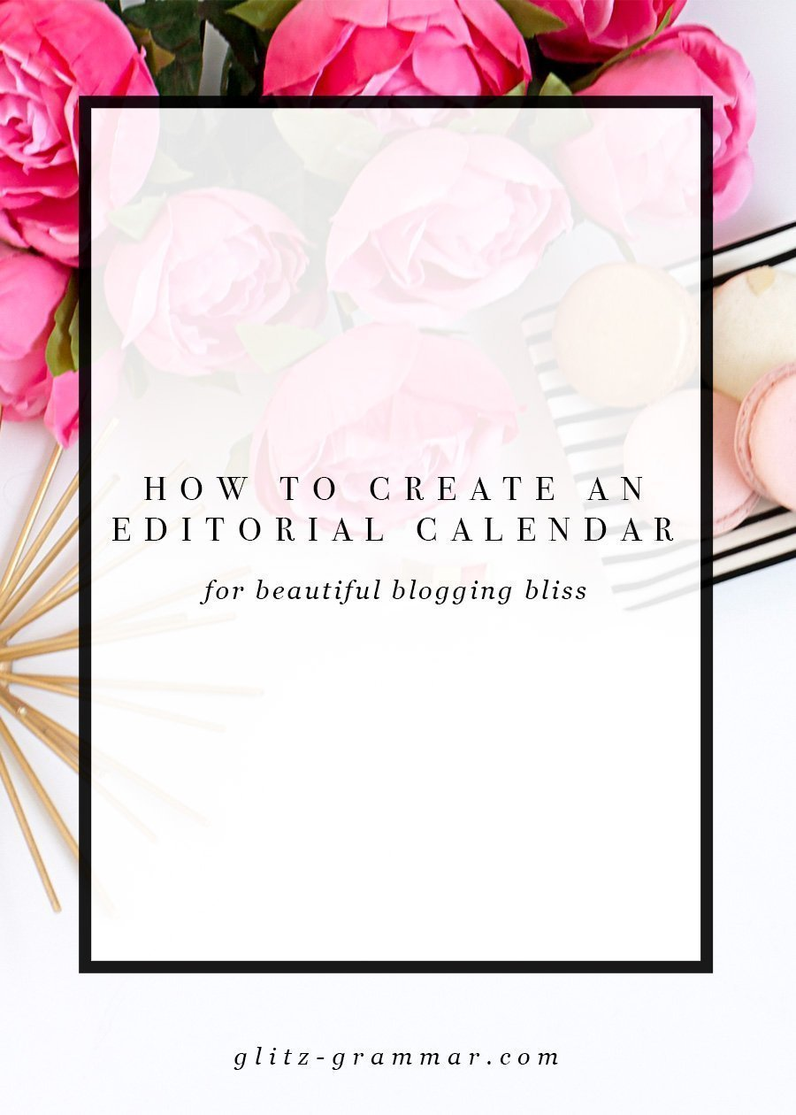 how create editorial calendar