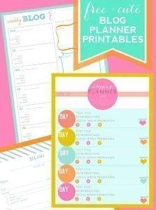 FREE-+-Cute-Blog-Planner-Printables