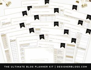 free blog planner designer blogs