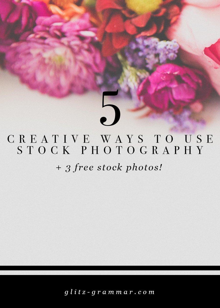 5 creative ways use stock photos