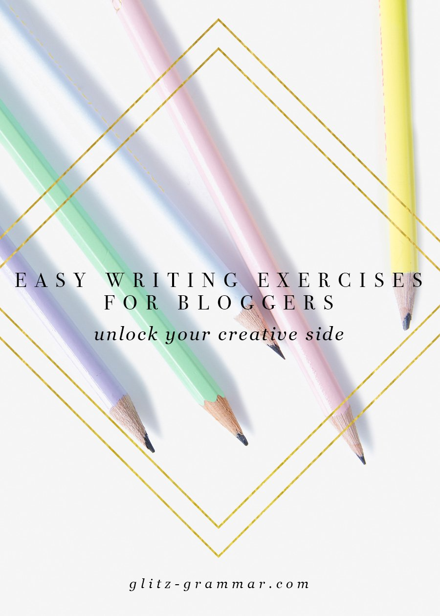 easy writing exercises for bloggers
