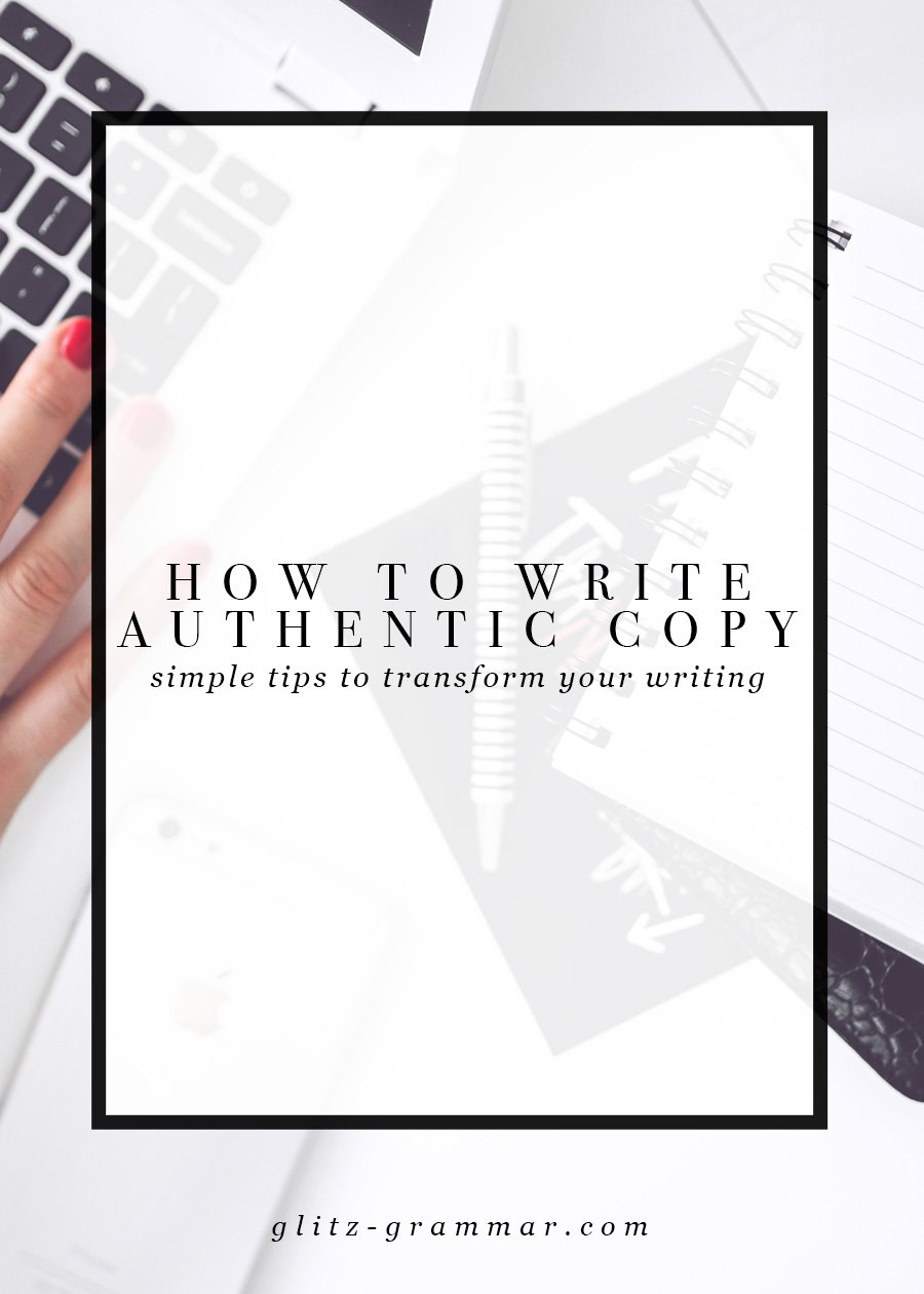 how to write authentic copy, simple tips to transform your writing! Click here to read more on how to use your copy to turn readers into raving, loyal fans.