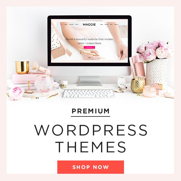 bluchic feminine wordpress themes for bloggers and creative entrepreneurs