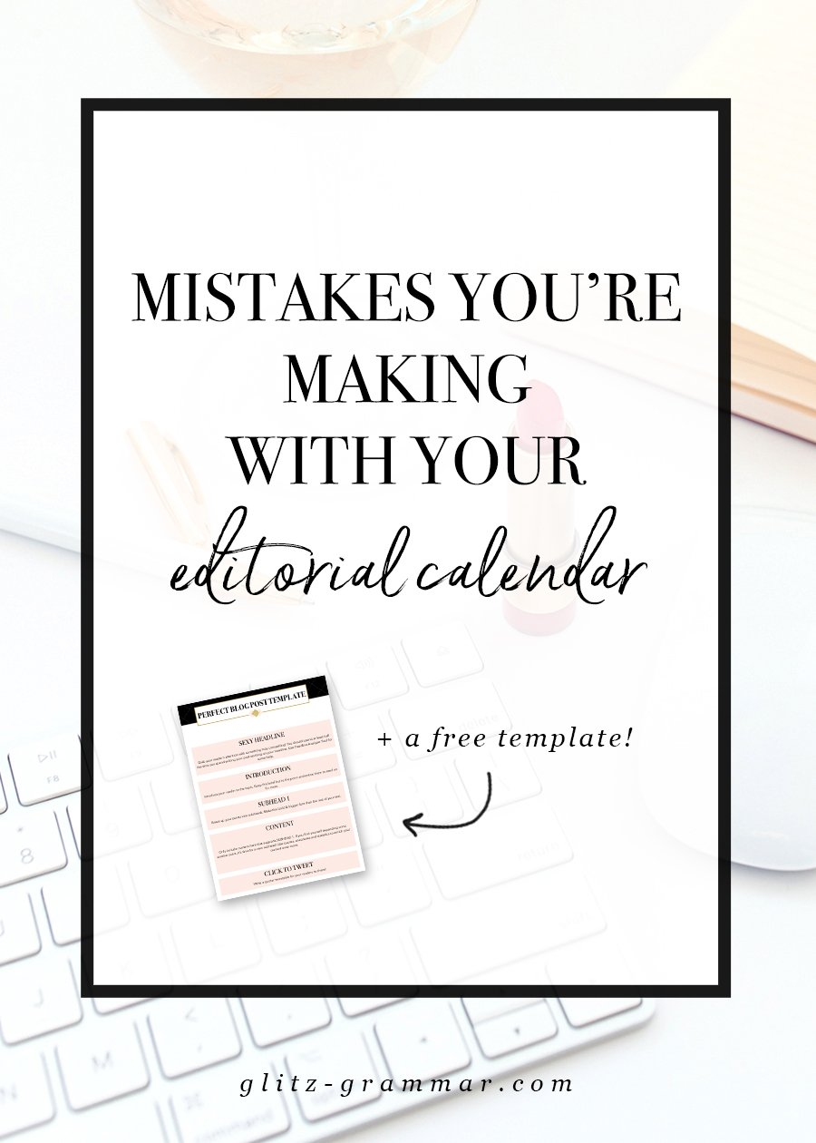 editorial calendar mistakes you may be making